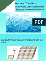 Quimica:Estructura Cristalina