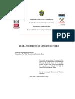 DISSERTAÇÃO_FlotaçãoDiretaMinério