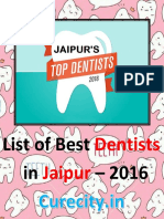 Top 10 Best Dentists in Jaipur - Curecity