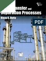 B K Dutta-Mass Transfer