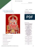 Bhakti_ Sri Devi Khadgamala Stotram