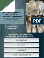 Agribisnis Jamur Tiram Putih
