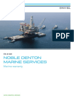 Noble Denton Marine Services Marine Warranty