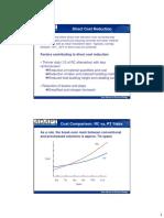 Cost Benefit Analysis Pt vs Rc