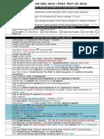 Checklist Tuk Ukg 2016 v2007