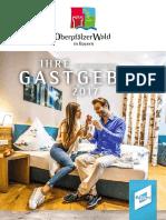 Oberpfälzer Wald - Gastgeberverzeichnis 2017
