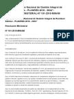El Peruano - Aprueban El _plan Nacional de Gestión Integral de Residuos Sólidos - Planres 2016 - 2024_ - Resolucion Ministerial - Nº 191-2016-Minam - Poder Ejecutivo - Ambiente