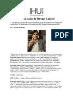 Letícia de Luna Freire - A Ciência da Ação em Bruno Latour
