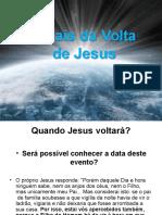 Sinaisda Volta de Jesus
