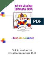 Luscher Diplomado Laboral 2015