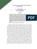 Landasan Antropologi Pendidikan - Artikel