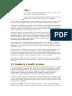 Austrilia Health Care