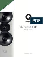 Q Acoustics Concept 500 White Paper
