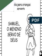 História de Samuel Para Crianças