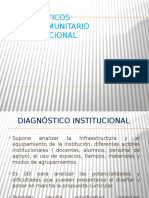 3.El Diagnóstico Sociocomunitario e Institucional