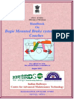Handbook on Bogie Mounted Brake System of ICF Coaches