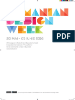 Revista RomanianDesignWeek