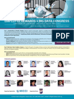 Employee Rewards and Bigdata Congress 2015 Flyer