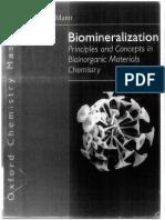 Biomineralization (Mann)