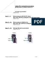 PLC to PC Connection