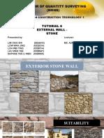 Presentation External Wall - Stone