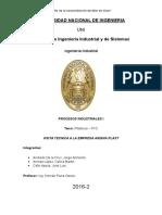 Plasticos Pvc Informe