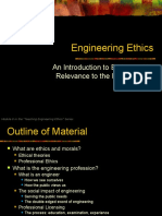 Ethics Module engineering