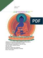 Mantra Budha Medicina