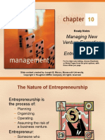 Managing New Venture Formation and Enterpreneurship