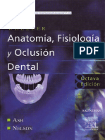 Anatomia Fisiologica de la Oclusión Dental Wheeler