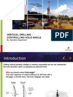 150610 Controlling Hole Angle - Vertical Drilling