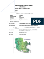 Informe de Práctica de Campo