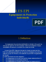 EPI Equipement de Protection Individulle