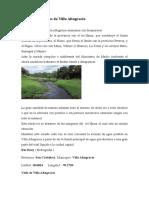 Recursos Hídricos de Villa Altagracia