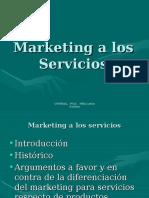 Marketing a Los Servicios