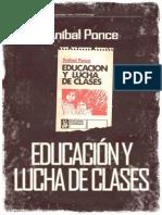Anibal Ponce - Educacion y lucha de clases.pdf