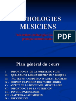 PPT Pathologies Des Musiciens