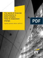 EY MiFID II Client Brochure the World of Financial Instruments is More Complex