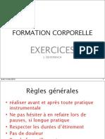 Exercises de Bases - Formation Corporelle