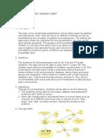 multimeda summary sheet