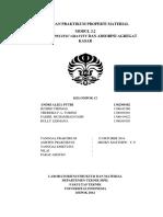 Laporan Praktikum Properti Material Modul 3.2 - analisa spesific gravity