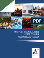 Le programme culturel de François Fillon
