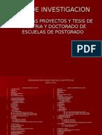 Proyecto y Tesis Epg Ucv