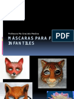 Máscaras Para Fiestas Infantiles