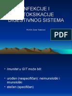 Infekcije i Intoksikacije Digestivnog Sistema