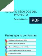 3.1.a. Estudio Técnico Del Proyecto