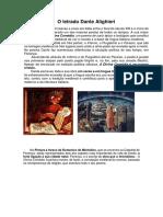 O Letrado Dante Alighieri