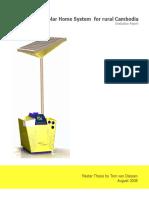 Stud Tom Van Diessen Development Solar Home System