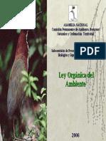 Ley Organica Del Ambiente 2006, Useche, E. Comision Ambiente, Asamblea Nacional