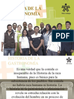 Historia de La Gastronomia Oficial